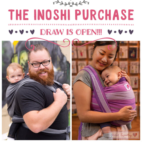 Global Tapestry - Inoshi Baby Carrier - Draw to Purchase is OPEN