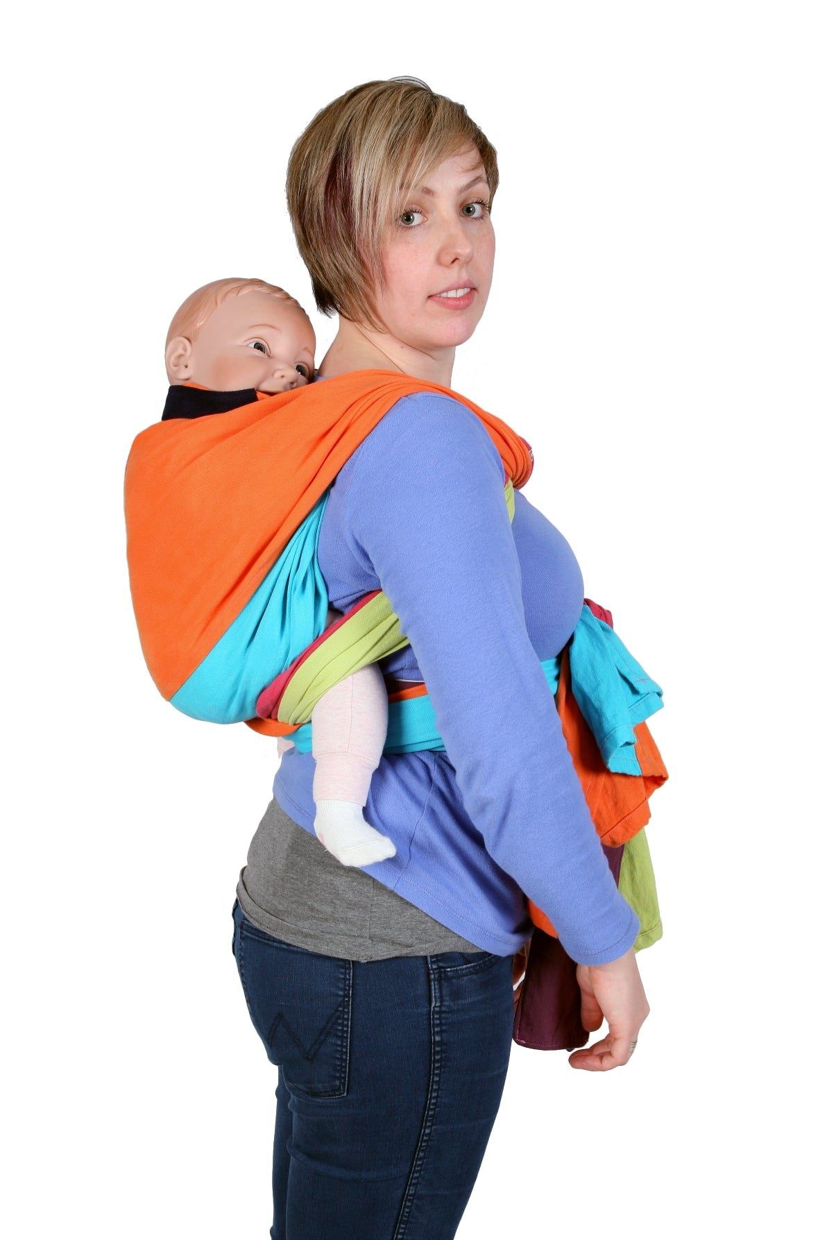 Global Tapestry - Inoshi Baby Carrier - Back Carry