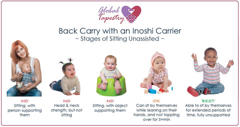 Global Tapestry - Back Carry with an Inoshi Baby Carrier