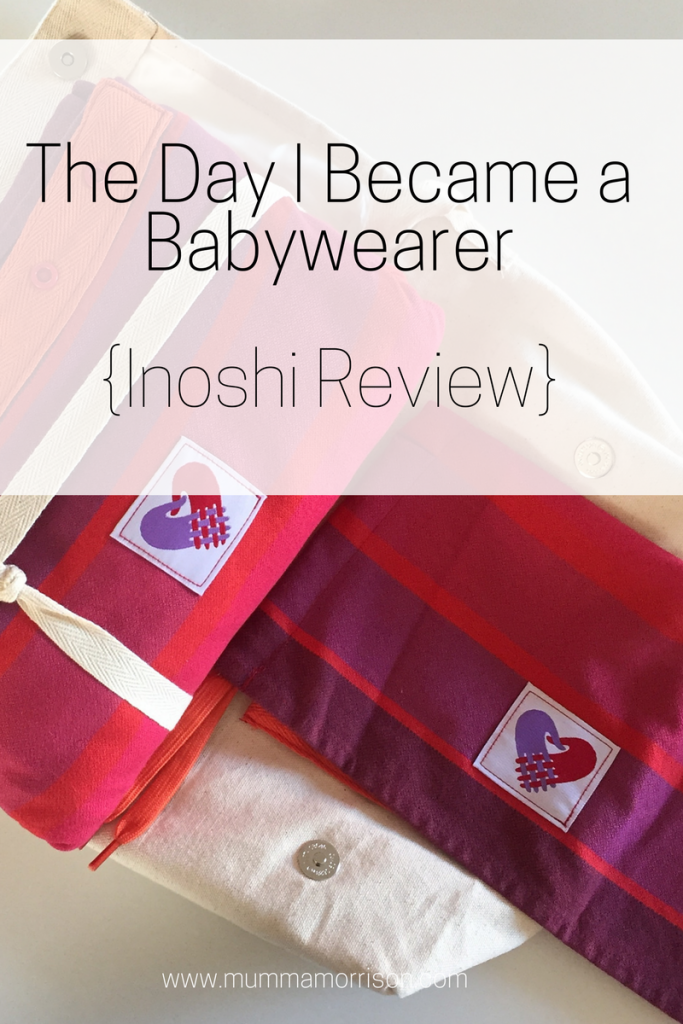 Baby Carrier Inoshi Review