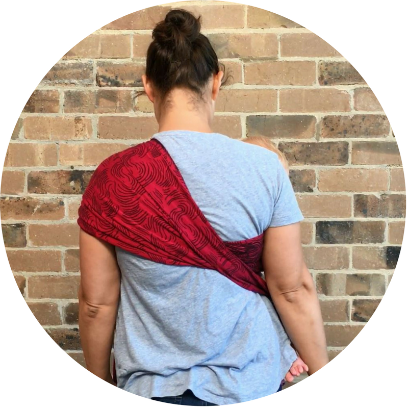 How to use a ring sling - flipped version - global tapestry