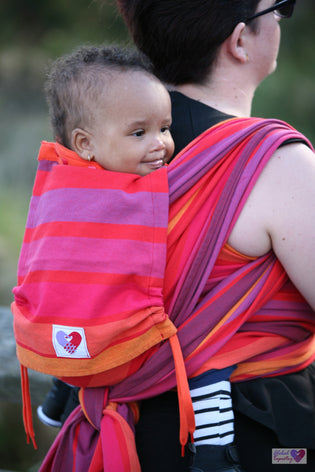 Baby Carrier Inoshi - Raspberry Rhodonite