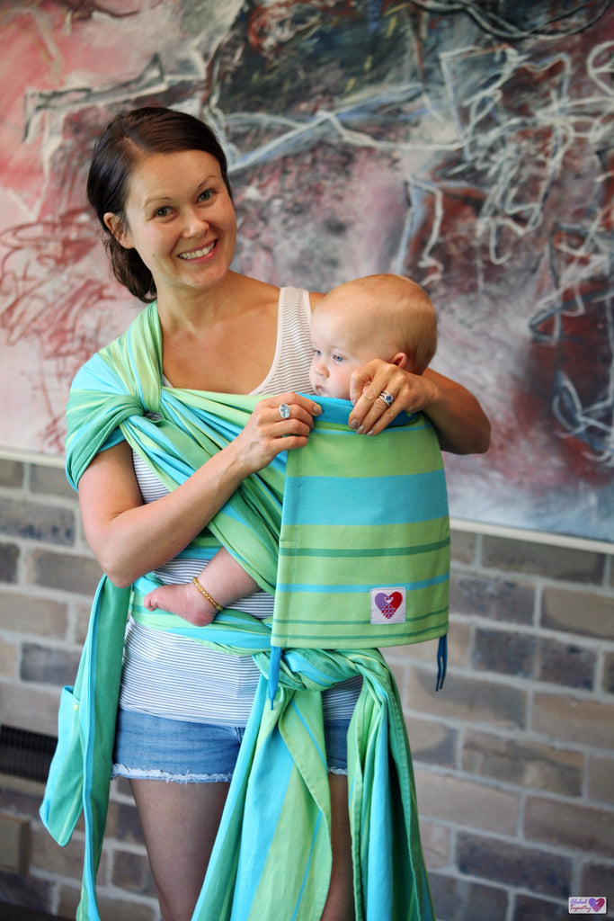 Baby Carrier Inoshi - Turquoise
