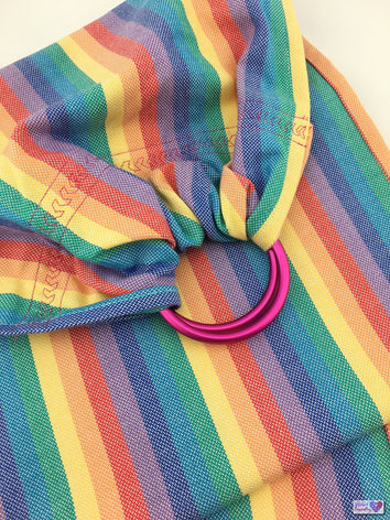 Doll Ring Sling - Little Rainbow