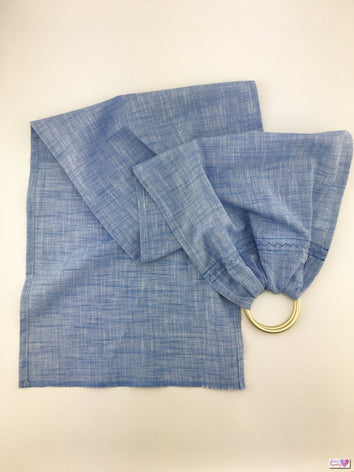 Doll Ring Sling - Ocean Blue