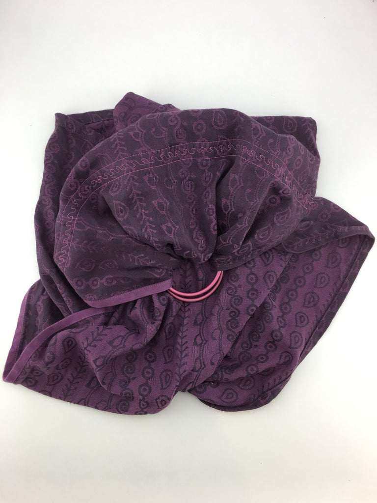 Ring Sling - Hoppediz Darjeeling Purple