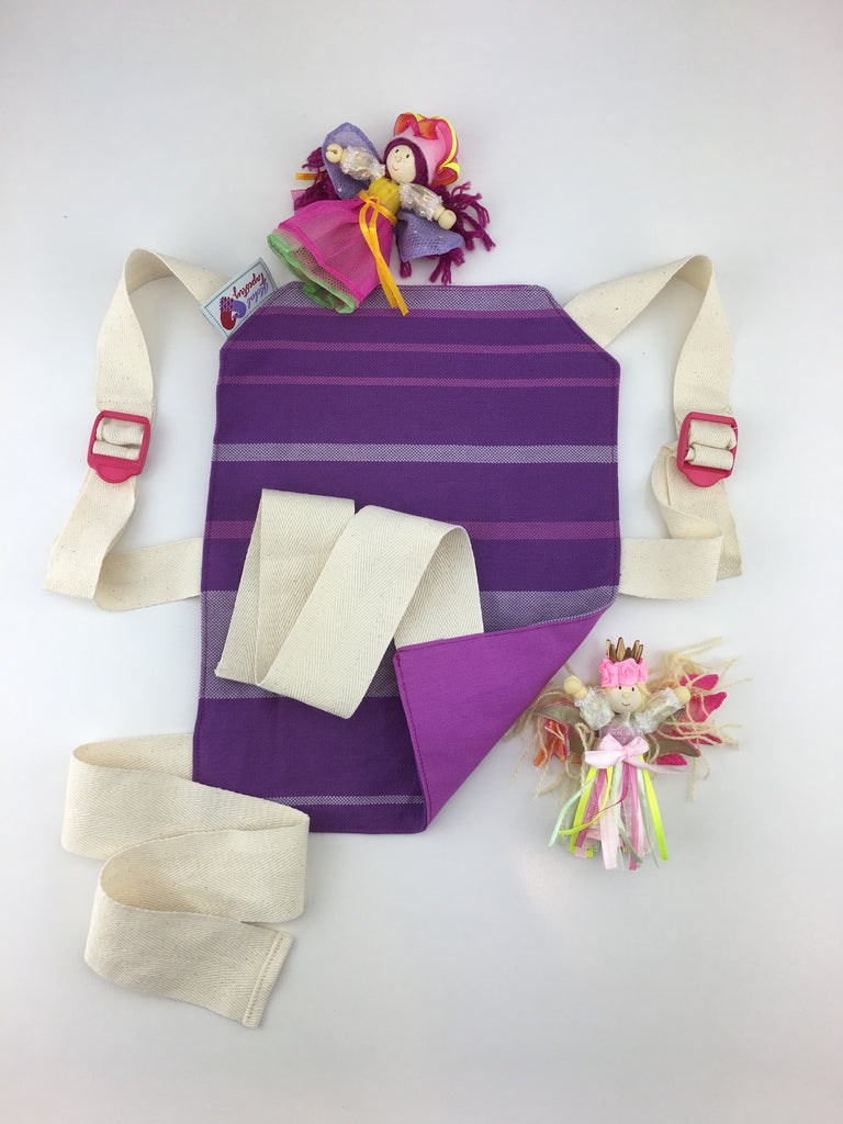 Doll Carrier - Amethyst Purple