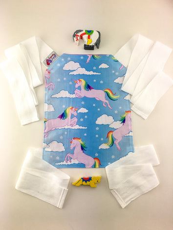 Doll Carrier - Rainbow Unicorns