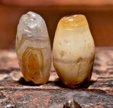 AA 206  Pair of Ancient Agates