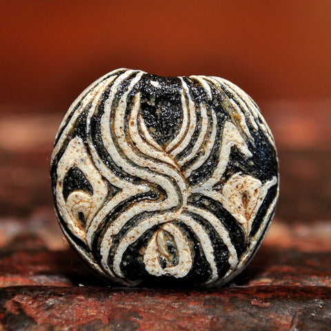 AG 102 Ancient Islamic Glass Tabular Bead