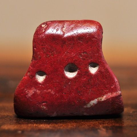 AM 102 Islamic Era Prayer Box Red Stone Amulet