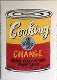 Cooking 4 Change – Screen printed, numbered