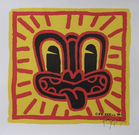 Signed Red Haring Print By Dick Frizzell, very rare! 25 available!