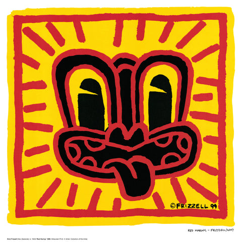 Signed Red Haring by DIck Frizzell