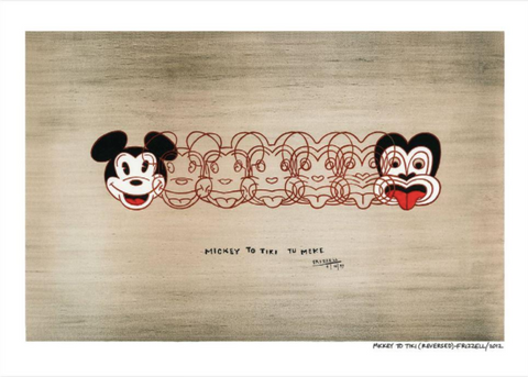 Mickey to Tiki Reproduction Print