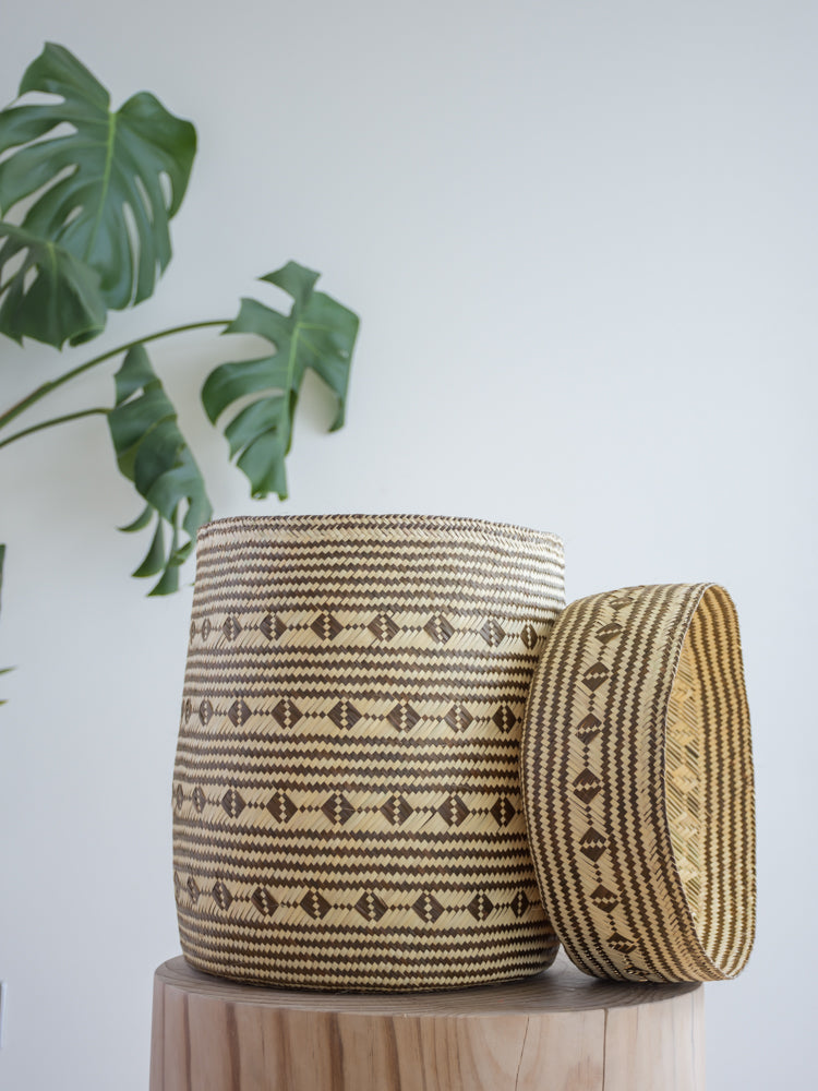 Palm Leaf Basket Medium