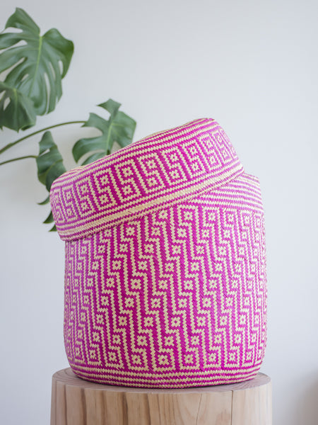 Palm Leaf Basket Large