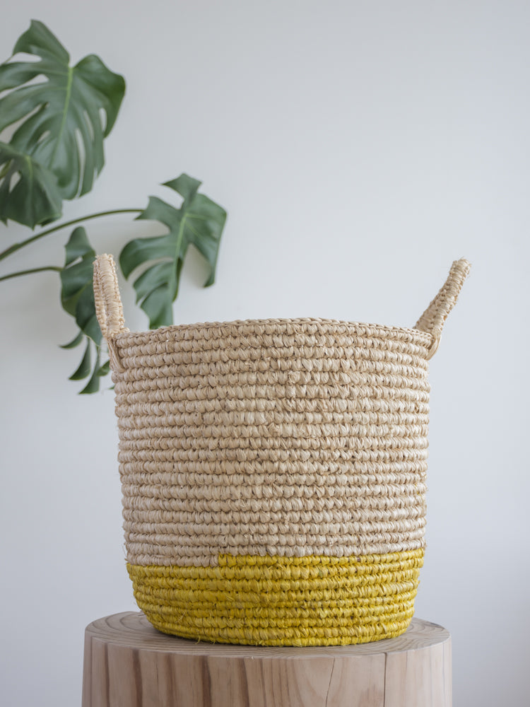 Georgie Basket Yellow