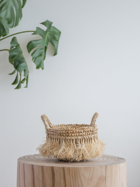 Johnny Mini Fringe Basket