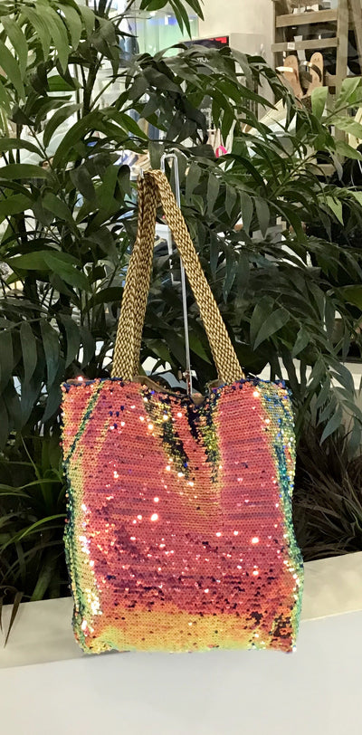 Sequin Bag - Multi Colour