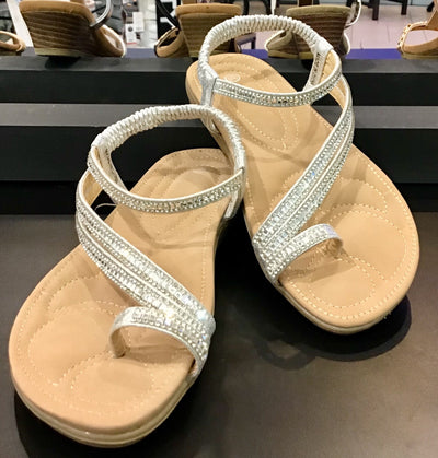 Bling sandals - Silver