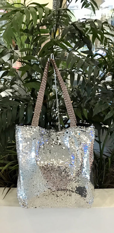 Sequin Bag - Silver