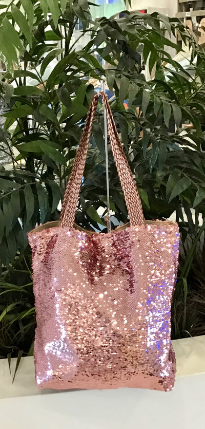 Sequin Bag - Pink
