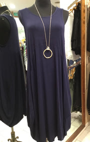 Navy Leonie Dress