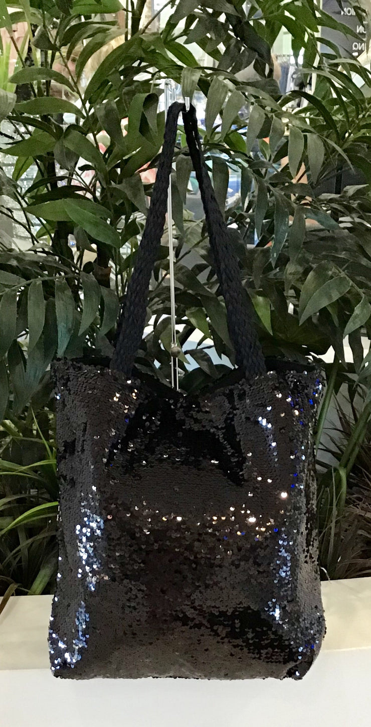 Sequin Bag - Black