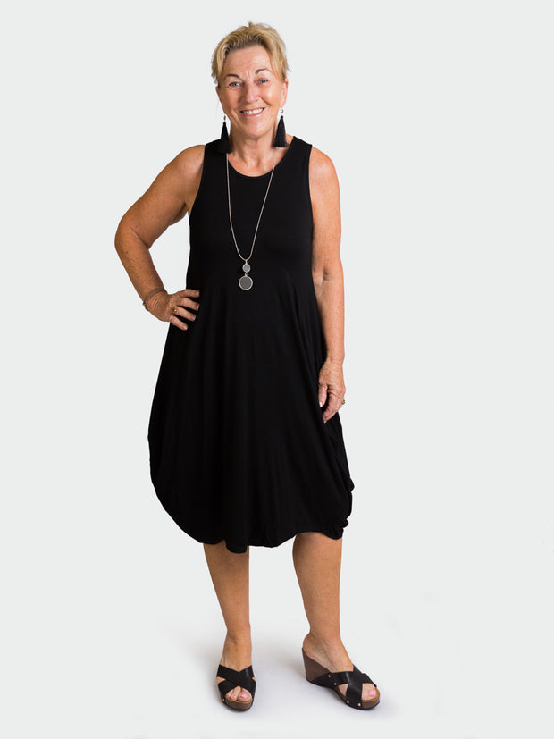 Black Leonie Dress