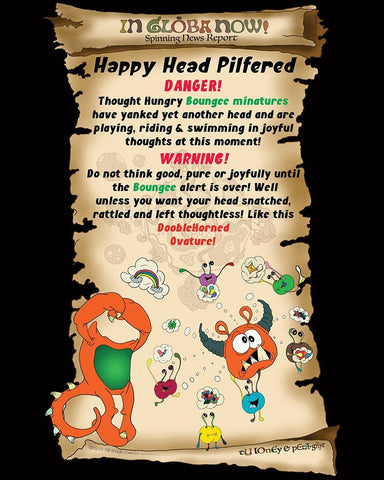 Happy Head Poster
