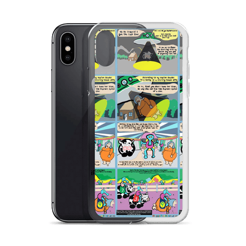 PeeNoor comic Iphone case
