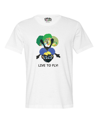 LIVE TO FLY - Men's T* - Happy Fun Store    - 1