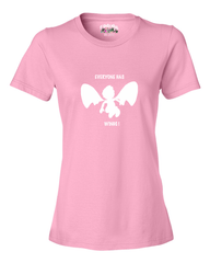 Everyone Has Wings Women's T - Happy Fun Store    - 3