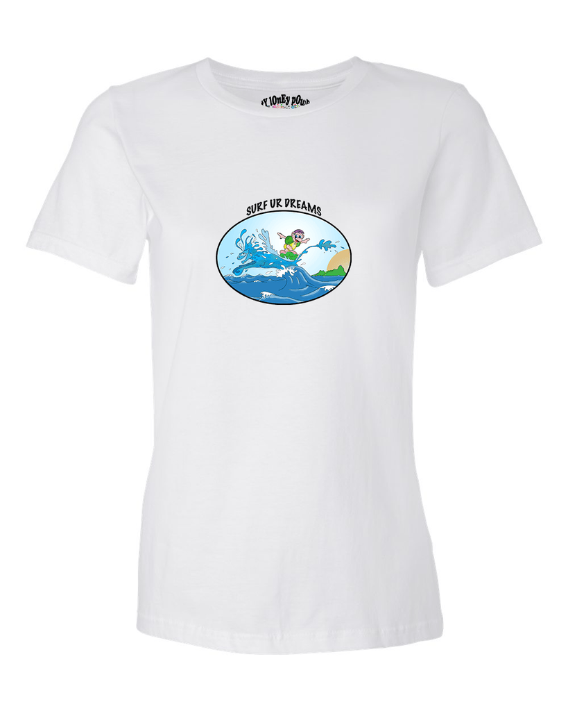 Surf Your Dreams Women's T - Happy Fun Store    - 5
