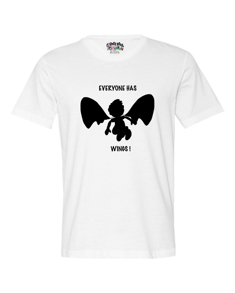 Everyone Has Wings Men's T* - Happy Fun Store    - 3