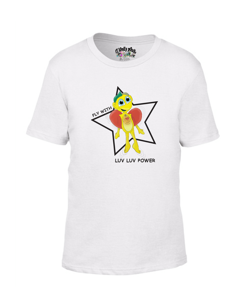 Luv Luv Power Kids T - Happy Fun Store    - 1