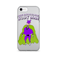 The Improbable Sody Man Iphone case