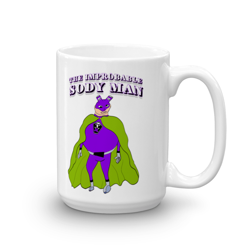 The Improbable Sody Man Mug! - Happy Fun Store    - 1