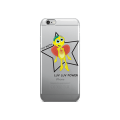 Fly with luv luv power Iphone case - Happy Fun Store    - 1