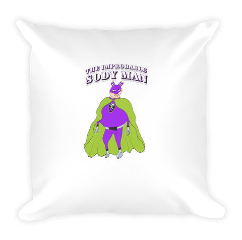 The Improbable Sody Man Pillow!