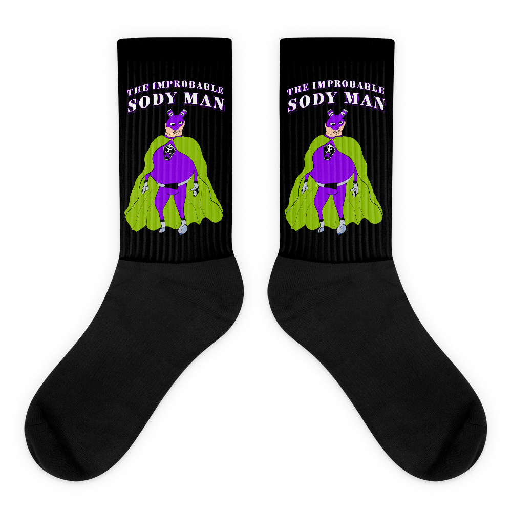 Sody Man Socks! - Happy Fun Store
