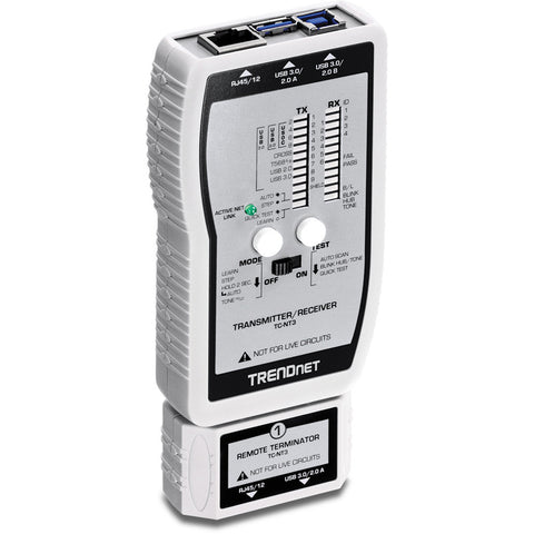 Network Cable Tester for TP VDV USB TC-NT3