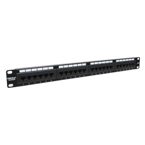 24 Port CAT6 UTP Patch Panel TC-P24C6 Trendnet