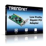TRENDnet Low Profile Gigabit PCI Network Adapter TEG-PCITXRL