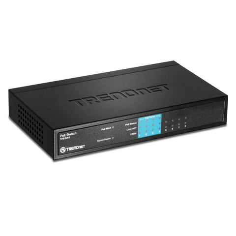 8 Port 10/100Mbps PoE Switch TPE-S44