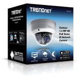 TRENDnet Outdoor PoE Dome Camera TV-IP321PI
