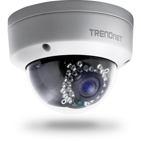 Outdoor 1.3MP HD PoE Dome IR Camera TV-IP321PI