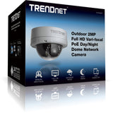 TRENDnet Outdoor HD PoE Dome Day/Night Camera TV-IP342PI