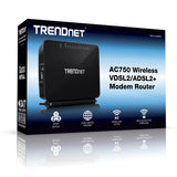 AC750 VDSL2 ADSL2+ Wireless Modem Router TEW-816DRM